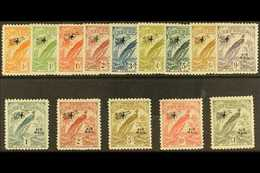 1931 Air Overprinted Set Complete, SG 163/76, Never Hinged Mint (14 Stamps) For More Images, Please Visit Http://www.san - Papua New Guinea