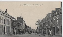 SECLIN   Nord  Rue De Burgault Vers 1920 - Seclin