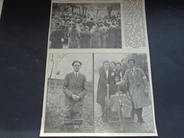 """Origineel Knipsel ( 1910 ) Uit Tijdschrift """" Ons Volk """"  1933 :   Etichove   Etikhove - Non Classés"""