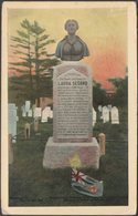 Monument To Laura Secord, Niagara Falls, Ontario, 1910 - FH Leslie Postcard - Niagara Falls