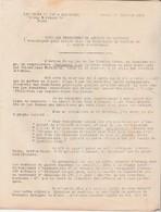 Croix De Feu & Briscards 1934 / Communiqué De La Rocque / Dissensions Avec Action Française - Documents Historiques