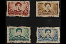 1956 Death Of Mac Thi Buoi Set, SG N54/57, Unused As Issued. Rare (4 Stamps) For More Images, Please Visit Http://www.sa - Vietnam