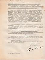 Croix De Feu & Briscards 1932 / Conditions De Recrutement / Circulaire Signée De La Rocque - Documents Historiques