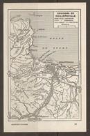 CARTE PLAN 1955 - ALGÉRIE ENVIRONS De PHILIPPEVILLE - STORA DAMRÉMONT SRIGINA SAINT ANTOINE BOU YALA - Cartes Topographiques