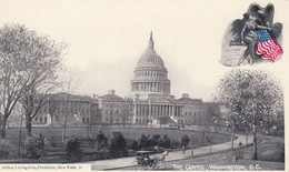 WASHINGTON D.C. , 1896 ; Capitol - Washington DC