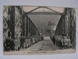 CPA 08 ARDENNES CHATEAU REGNAULT BOGNY LE PONT SUR LA MEUSE TRES TRES ANIMEE 769 - Frankrijk