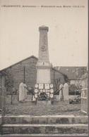 CHARBOGNE - MONUMENT AUX MORTS - France