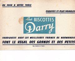 BUVARD LES BISCOTTES DARRY - Food