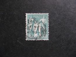 C).  TB N° 63, Oblitéré. - 1876-1878 Sage (Type I)