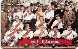 Argentina - Telefónica - River Plate Football Team, El Ascenso, 02.1999, 20U, 100.000ex, Used - Argentine