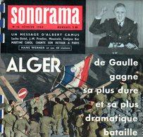 Sonorama N° 16 : Alger, Bardot Maman, Camus - Formats Spéciaux