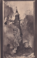 Dessin à L'encre De Victor Hugo Le Phare D'Eddystone 1860 - Pittura & Quadri