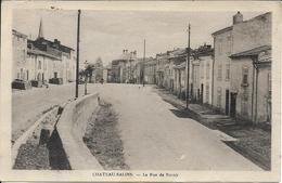 CHATEAU SALINS La Rue De Nancy - Chateau Salins