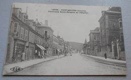 25 - Pontarlier - ( Doubs ) - Faubourg Saint Etienne Et L'Hôpital  :::: Animation ----------- 518 - Pontarlier