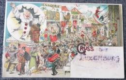 1898 Gruss Aus Luxemburg - Kirmes - Ansichtskarten