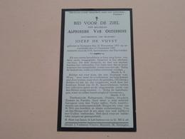 DP Alphonsine Van OUDENHOVE ( Jozef De Vuyst ) Sottegem 19 Nov 1911 - 10 Dec 1937 ! - Todesanzeige