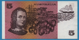 AUSTRALIA  5 Dollars NDSerial QKQ 183251 P# 44g - 1974-94 Australia Reserve Bank (Banknoten Aus Papier)