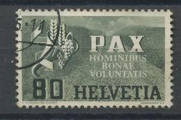 1945 PAX  80 C  N_412  Cote Yvert 55,-euros - Gebruikt