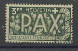 1945 PAX  3 Francs  N_415  Cote Yvert 60,-euros - Gebruikt