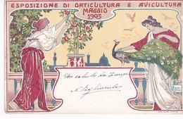 ITALIE(FIRENZE) EXPOSITION D AVICULTURE 1903 - Firenze (Florence)