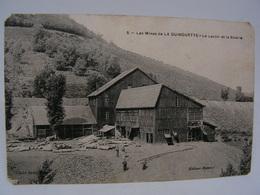 CPA 63 PUY DE DOME LES MINES DE LA GUINGUETTE LE LAVOIR ET LA SCIERIE  778 - Francia