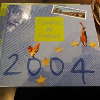 Année 2004 Complète   Livre, Boitier, Pochettes Et Timbres Neuf Sans Charnière Gomme D'origine Luxe  Frais De Port 5 Eur - 2000-2009