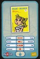 Phil A Club / Card / Bpost / 36-93 / Dupuis / Franquin - Autres Collections