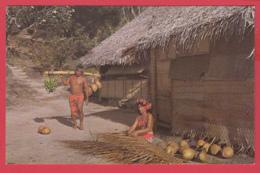 CPM-TAHITI - La Vie Qotidienne - Animation-Photo A. Giau , Papeete SUP *2 SCANS - Tahiti