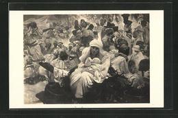 Künstler-AK Alphonse Mucha: Slovanslá Epopeje, Slavnost Svantovitova Na Rujane - Mucha, Alphonse