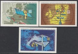 OOST-DUITSLAND MI.NR.BLOCK 34+35+36  MNH / POSTFRIS / NEUF SANS CHARNIERE 1972 - Blokken