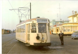 "WUUSTWEZEL""TERMINUS GRENS NMVB TRAMIJN 64 ANTWERPEN WUUSTWEZEL"" 2STUKS-27.06.1966 - Autres"
