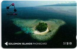 Solomon - Solomon Tel. - GPT - SOL-01 - 01SIC - Kasolo (Kennedy) Island, 10$, Used - Solomon Islands