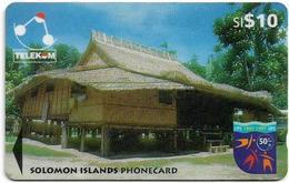 Solomon - Solomon Tel. - GPT - SOL-17 - 04SIC - Sigana Village, 10$, Used - Solomon Islands