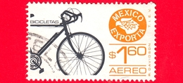 MESSICO - Usato - 1975 - Mexico Exporta - Biciclette - Bicycle - 1.60 - Aereo - Messico