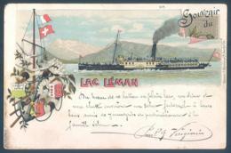 Lot De 22 Cartes GE Geneve Lac Léman Bateaux - GE Genève