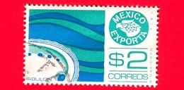 MESSICO - Usato - 1976 - Mexico Exporta - Molluschi - Abulon - Abalone - 2 - Messico