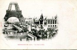 CPA - PARIS -  EXPOSITION 1900 - PONT D'IENA (IMPECCABLE) - Expositions