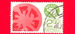MESSICO - Usato - 1979 - Mexico Exporta - Pomodori - Tomate - Tomatoes - $ 2.50 - Aereo - Messico