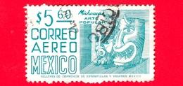 MESSICO - Usato - 1975 - Michoacan - Arte Popolare - Maschera - 5.60 - Messico