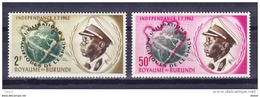 Burundi 1963 Nr 52/53 **, Zeer Mooi Lot Krt 3807 - Collections (without Album)