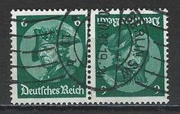 Deutsches Reich Mi K17 O - Se-Tenant