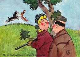 Ils Se Sont Connus L'année Dernière .: Illustrateur Jean Bellu - Humour