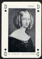 Speelkaart / Carte à Jouer / Joyaux De Belgique / Sieraden Van België / Royalty / Reine Louis Marie / Louise D'Orléans - Cartes à Jouer Classiques