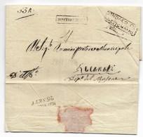 GOVERNO PROVVISORIO DI MURAT - DA MASSIGNANO A RECANATI - 18.9.1814. - Italia