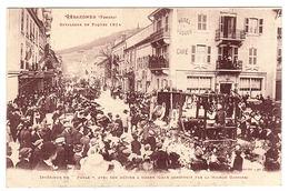 """GERARDMER (88) - CAVALCADE DE PAQUES 1914 - Intérieur Du """"POELE"""", Avec Son Métier à Tisser - Ed. Ad. Weick, Saint Dié - Gerardmer"""
