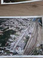 PHOTO AERIENNE VILLE DE ERQUELINNES BELGIQUE  39 Cm X 29 Cm - Lieux