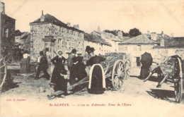 07 ARDECHE Animation Et Petit Marché à La Fontaine De La Cime De L'Estra De Saint-AGREVE - Saint Agrève
