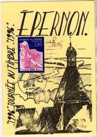 1996 - EPERNON - Journée Du Timbre 1996 - FDC