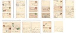 MEXICO - Stationery. 1900-1909. Embossed Eagle Issue Stationary Mint + Used Collection Of Diff Incl Adtl Franking. Inclu - Messico