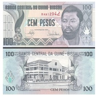 Billet Guinée Bissau 100 Pesos - Guinea-Bissau